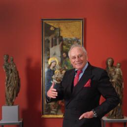 Portrait Unternehmer Adolf Würth Fotografie Volker Schrank